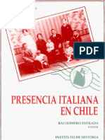 Prescencia Italiana en Chile
