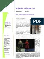 Boletim da EB 2,3 - 2º período 2011-12