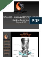 Alignment on Sundyne Compor Pump