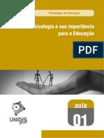 Psicologia da Educação - Aula 01 - 661