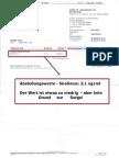 Abstoßungswerte - Sirolimus - 25. April 2012