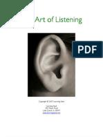 1158 Art of Listening Guide(1)