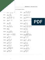 Exercícios Matemática I