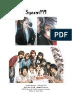 Syarat!!! (Yamada Ryosuke Fan Fiction)