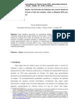 PAPER - Jornal Impresso e Eleições 2010