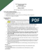 Board Minutes 2005-03-10