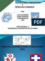 Derecho Internacional rio (Dih) y (Dh)