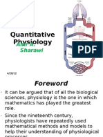 Quantitative Physiology Course - Module (1)