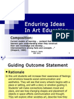 Enduring Ideas and Art Composition