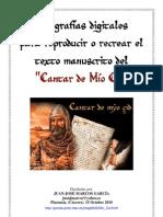Manuscrito Del Cantar de Mio Cid