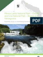 Feasibility study on establishing transboundary cooperation - NP Una - NP Plitvice