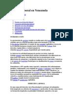 Derecho Laboral en Venezuela