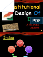 Constitutional Design of India