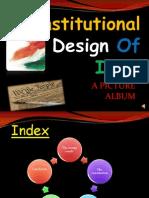 Constitutional Design of India