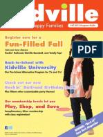 Kidville Fall 2012