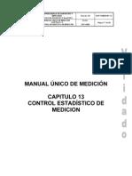 43600 Anexo 5 Manual de Medicion de Hidrocarburos Capitulo 13 Control Estadistico
