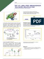 Test Measurement of Label-free Immunosensor Using BSA-AntiBSA Model Molecule Pair