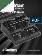 JamMan Stereo Manual 18-0707V-B