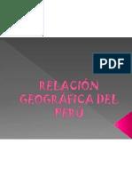 Relacion Geografica Del Peru