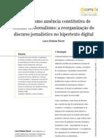 Artigo STORCH O Leitor Como Ausencia Constitutiva de Sentido No Jornalismo
