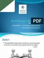 01 Semiologia Del Dolor