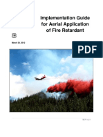 Implementation Guide for Aerial Applicationof Fire Retardant