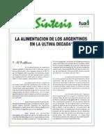 SÍNTESIS, Revista de la FUALI N° 1