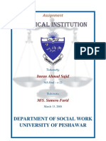 Political Institution-by Imran Ahmad Sajid, March 13, 2008