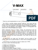 Smoktech Vmax User Manual