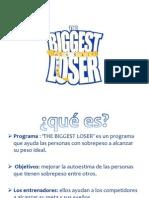 Trabalho Espanhol - BIGGEST LOSER2[1]