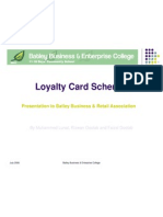 Student Presentation - Loyalty Card
