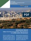UNOCHA OPT Bethlehem Shrinking Space May 2009 English