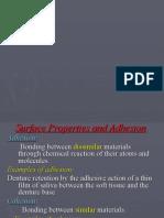 5 a- Adhesion