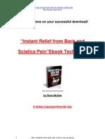 Instant Backpain eBook