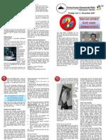 2007-11-11, Predigt 'Warum erhört Gott mein Gebet nicht'