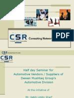 CSR - Presentation