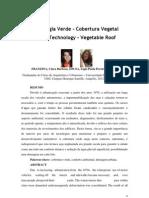 TECNOLOGIA VERDE - COBERTURA VEGETAL - LÍGIA E CLARA