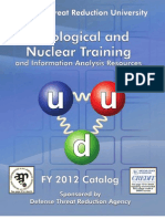 WMD Threat Training University 2012 Catalog