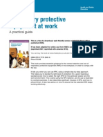 """HSE, HSG53 """"Respiratory protective equipment at work, A practical guide""""."""