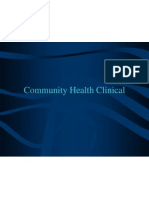 Sti Community Clinical
