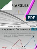 The E Tutor - Similarities of Triangles