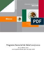 Politicas Nacionales Salud-Mexico-Programa Sectorial de Salud 2007-2012