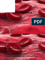 Thalassemia & Bleeding Disorders