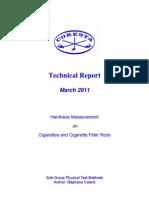 PTM-TechRep-Hardness Measurement Cig CigFilters
