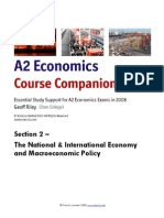 A2 Economics Section 2 Macroeconomics