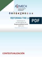 Reforma Tim 2012