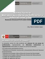 Norma Tecnica Metrados Para Obras de Edificaciones y Habilitaciones Urbanas