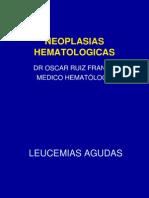 NEOPLASIAS HEMATOLOGICAS USAMEDIC