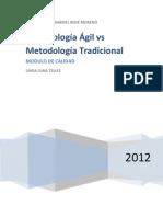 Metodologías ágiles vs tradicionales