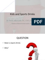 Kids and Sports Drinks